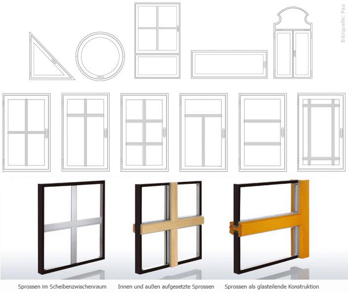 holzfensterformen sprossen der fensterfachmann in berlin. Black Bedroom Furniture Sets. Home Design Ideas